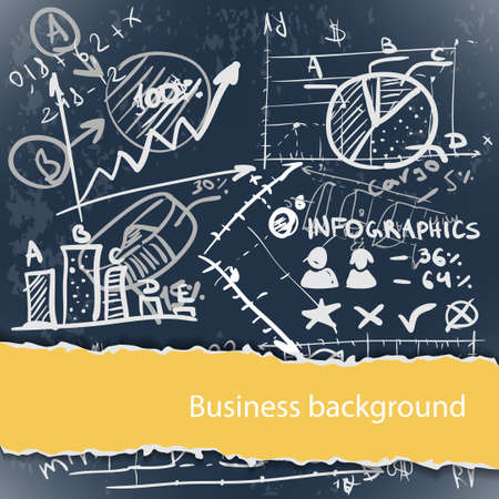 Business backgrounds set with copyspace Vector