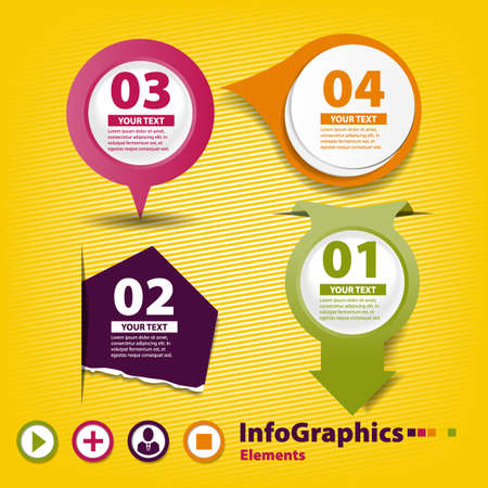 Four elements of infographics for your design