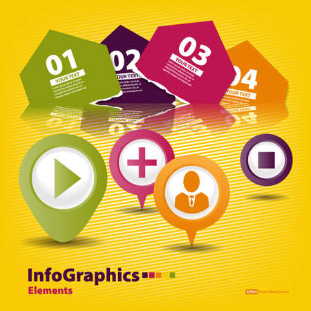 Elements of infographics for your design Stock Vector - 19060998