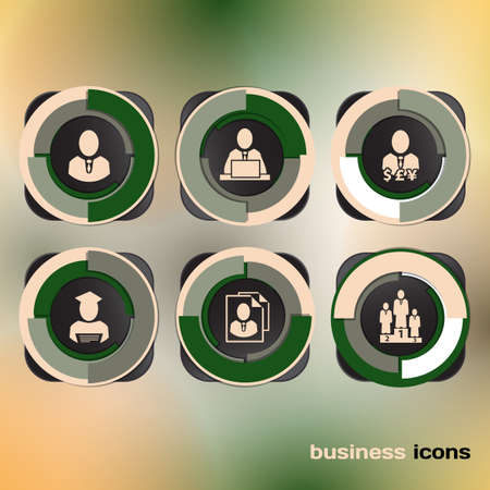 Vector Design icons for web and business Vector