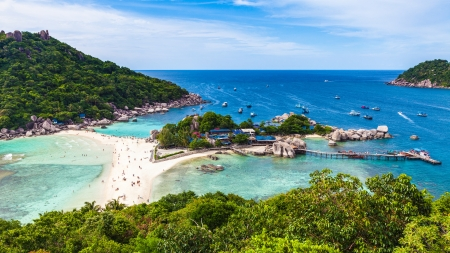 nangyuan: Nangyuan island Stock Photo