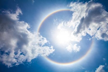 The sun halo