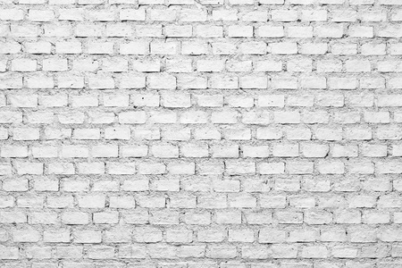 a background of a white brick wall photo