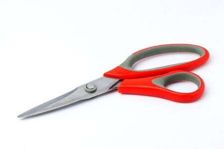 Scissors on white background Stock Photo - 16260715