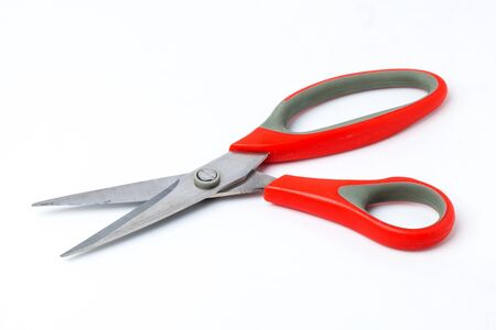 Scissors on white background Stock Photo - 16260716