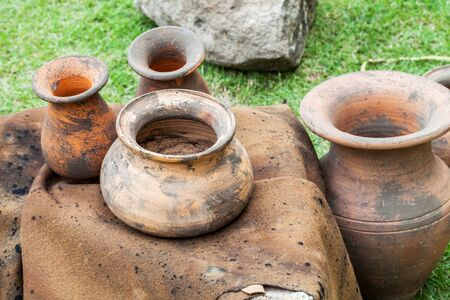 an old cruse pot set Stock Photo - 16976245