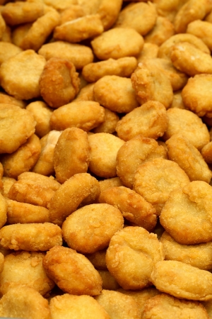 a lot of crispy chicken nuggets photo