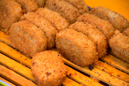 crispy fried chicken stick is a good appetizer menu Stock Photo