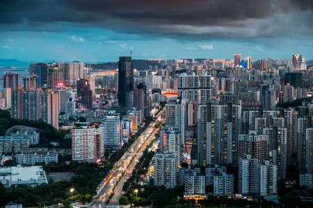 Cityscape of Zhuhai Zhuhai city landscape
