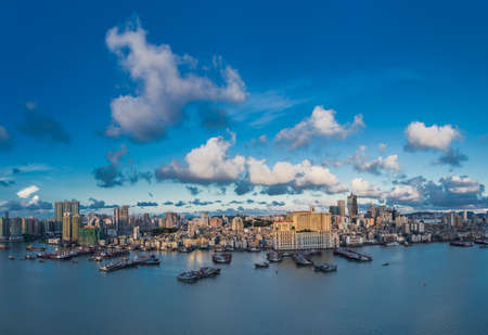 Cityscape of Macau Macao city landscape Stock Photo
