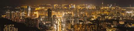 Night scene of Zhuhai Zhuhai night view Stock Photo - 98734627