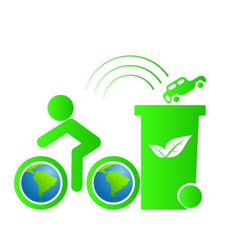 bicycle save the world