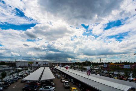 firmament: Nice Cloud Stock Photo