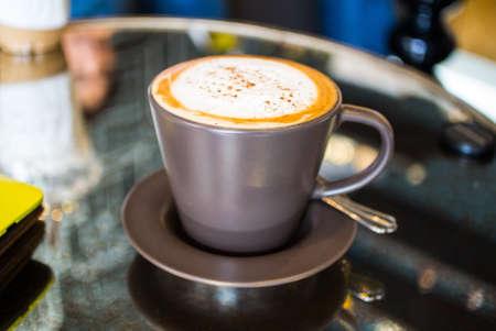 caffee: Green Tea Latte