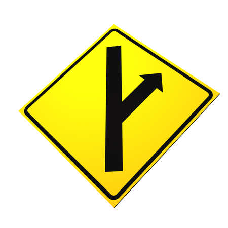 Sign of two direction