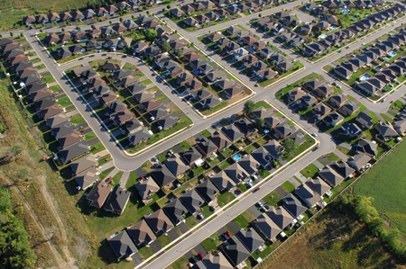 subdivisions: Zoning patterns in contemporary North American towns.