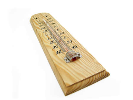 Wooden Thermometer photo