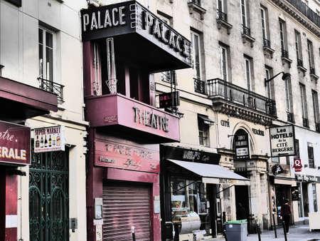 du: Theatre Le Palace 8 Rue du Faubourg Montmartre 75009 Paris Editorial