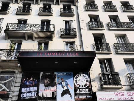 bonne: Le Comedy Club 42 Boulevard de Bonne Nouvelle 75010 Paris Editorial