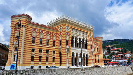 sarajevo: CIty hall of Sarajevo