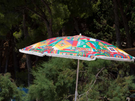 aslant: parasol, sunshade, umbrella