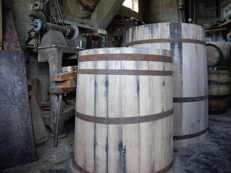 barrel for wine 写真素材