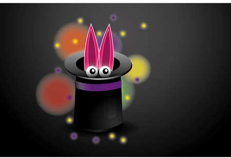conjurer: Focus, vector illustration
