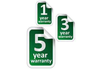 guarantee seal: Warranty Guarantee Seal Illustration