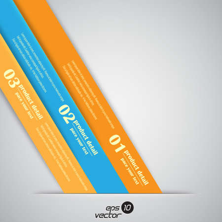 info graphics: number line background for business