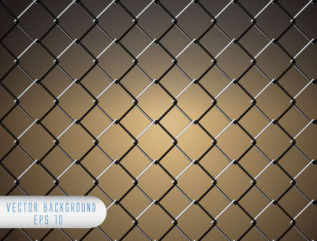 Chain Fence  Stock Vector - 13917665