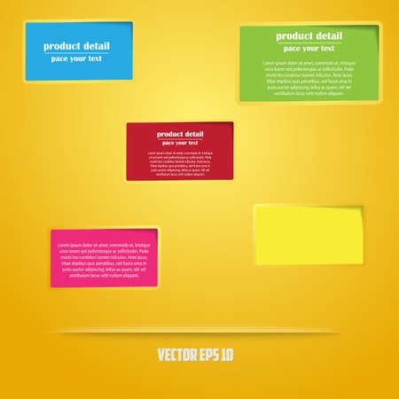 Abstract web design  vector Vector