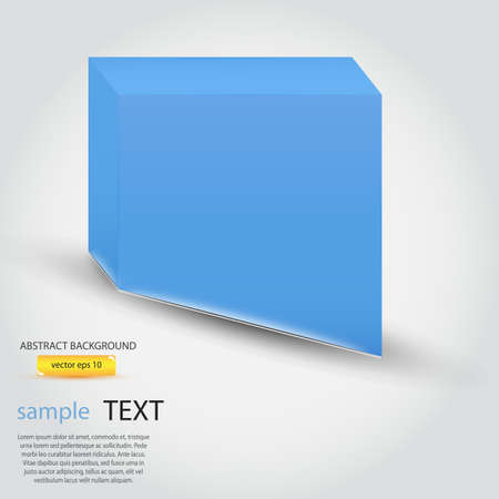 abstract background of cubes Vector