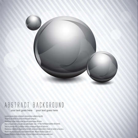 Abstract ball background