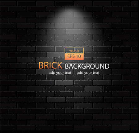 Brick-wall background Vector