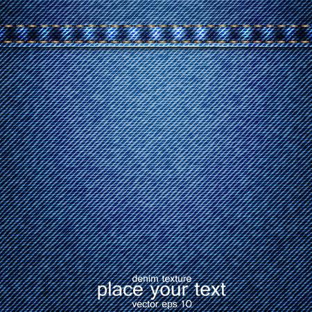denim: Jeans de fondo Vectores