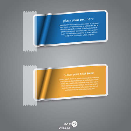 Colorful collection label Vector