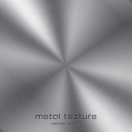 Seamless metal texture background  Vector Vector