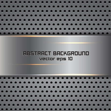 Stylish metallic background  Vector Vector