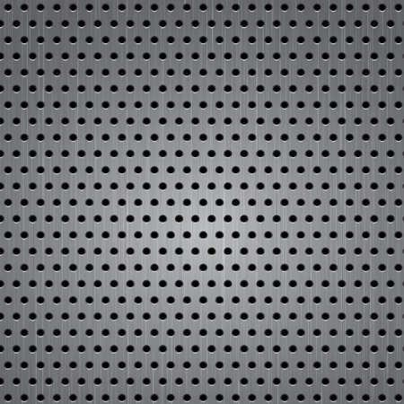 aluminium wallpaper: Seamless metal texture background  Vector