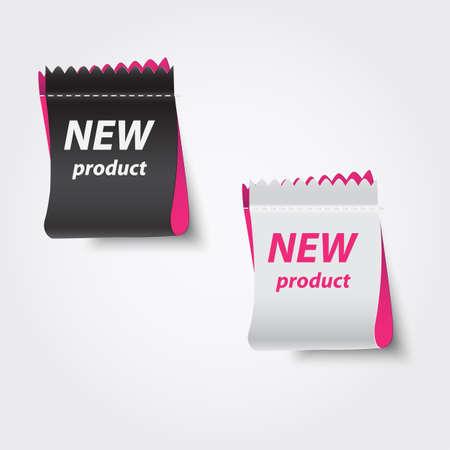 Nieuw product labels.