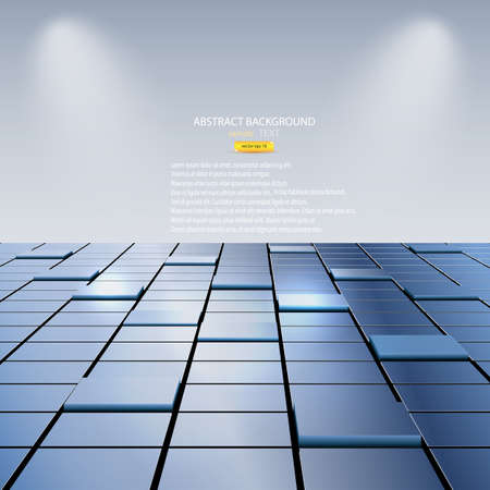 abstract background of cubes. Vector Vector