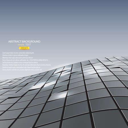 Fond abstrait de cubes. Vecteur