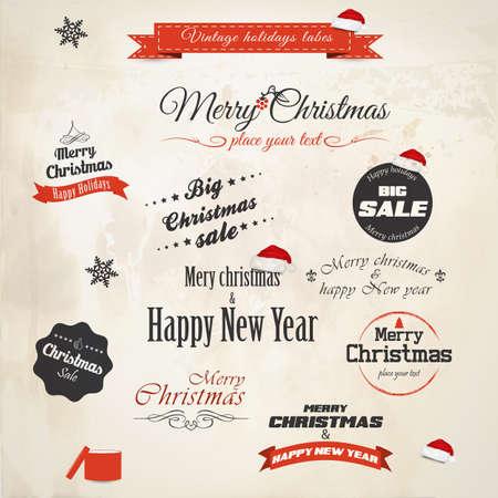 Christmas decoration collection. Vector Stock Vector - 16126075