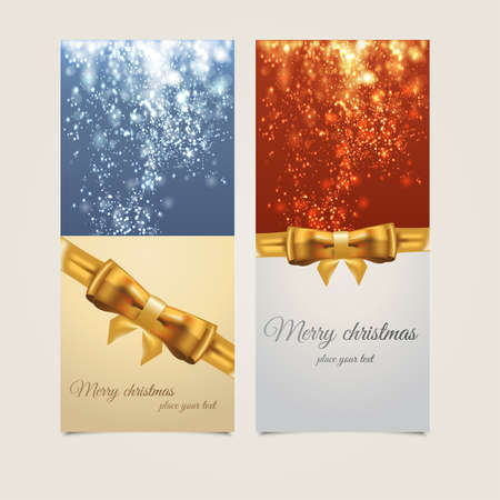 holy place: Merry christmas card. Vector