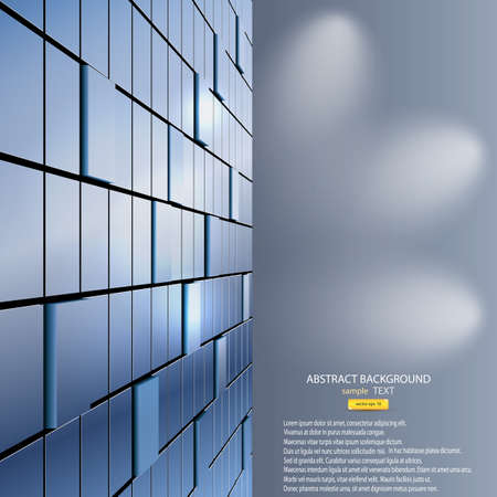 abstract background of cubes. Vector Stock Vector - 16401722