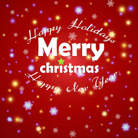 Christmas card design. Stock Vector - 16826879