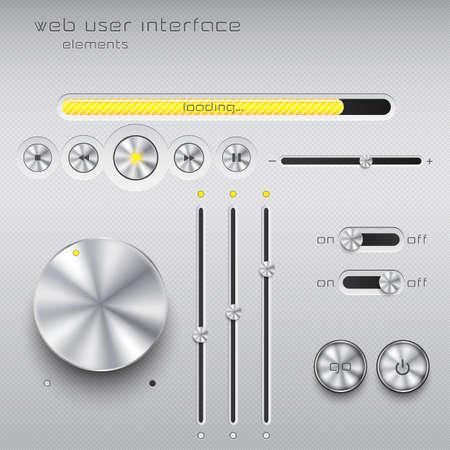 toggle: Web user interface design elements.