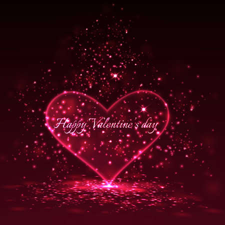 Valentine's day background.  Stock Vector - 17538379
