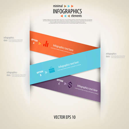 visualization: Minimal infographics.