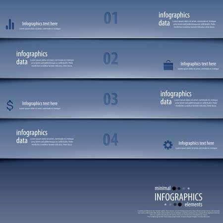 phonographic: Minimal infographics.